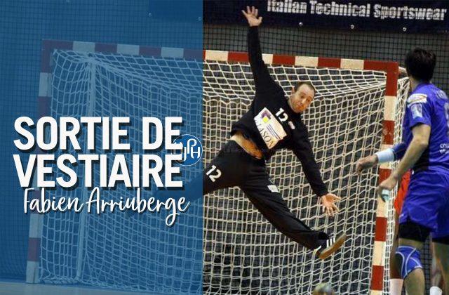 Sortie de Vestiaire, Fabien Arriubergé