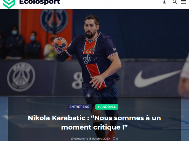 https://ecolosport.fr/blog/2020/10/18/nikola-karabatic-nous-sommes-a-un-moment-critique/